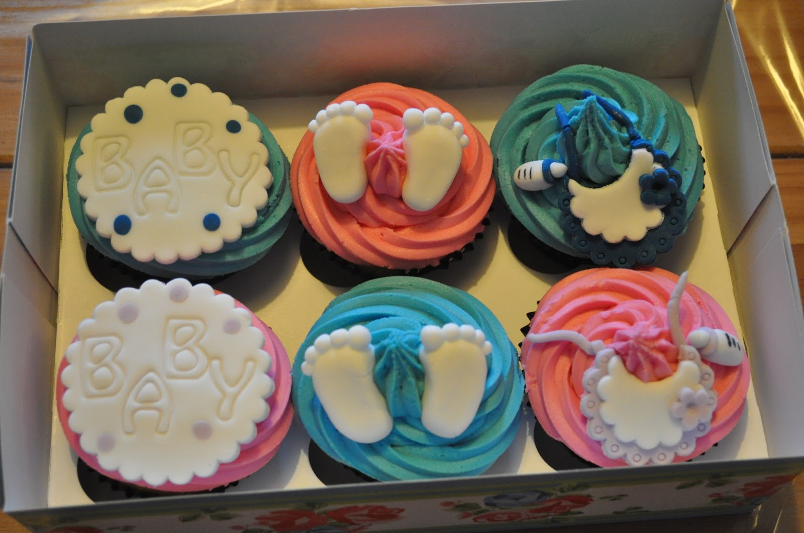 For these I made little sugar Naughty Cakes For Hen Party