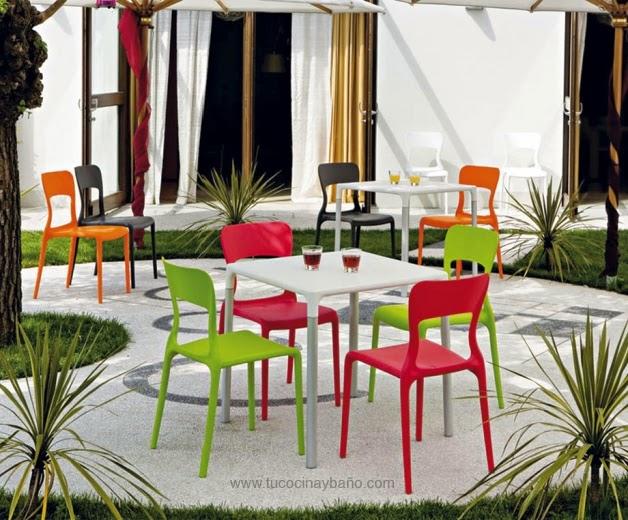 silla terraza color precio