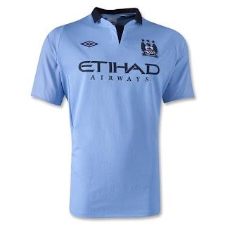 Jersey Manchester City