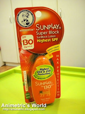 SunPlay Super Block SPF 130 PA+++