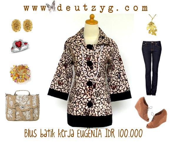Butik Batik Online Batik Maxi Dress Toko Baju Batik