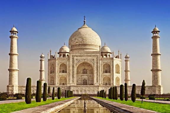 Los Jardines del Taj Mahal se alinean con los Solsticios Solares