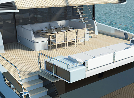 Wally Ace Motor Yacht – Choose your Colorway