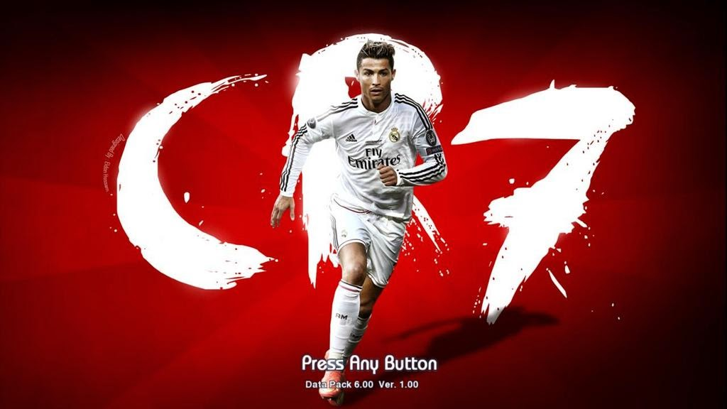 PES 2013 C.Ronaldo Startscreen Pack 2 by madn11