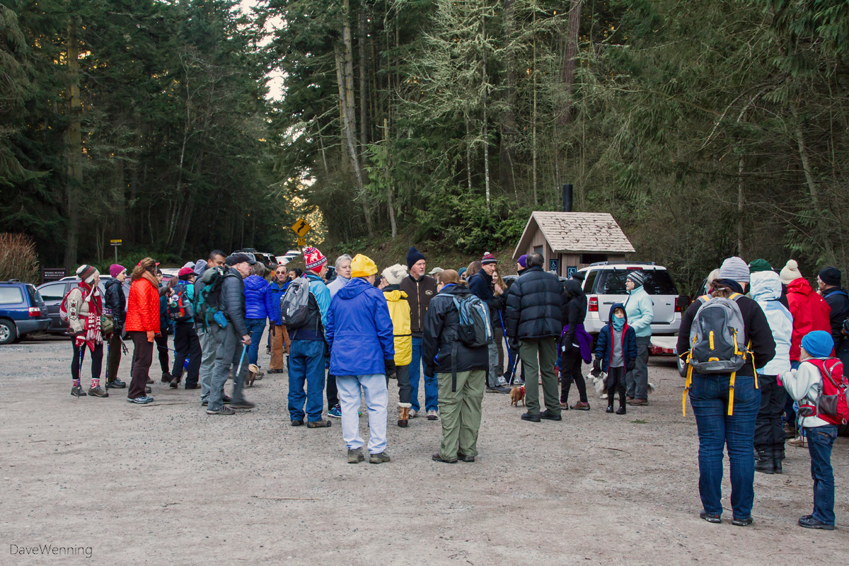 Deception Pass State Park First Day Hike 2015