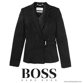 Queen Letizia wore HUGO BOSS FS Jesila Blazer