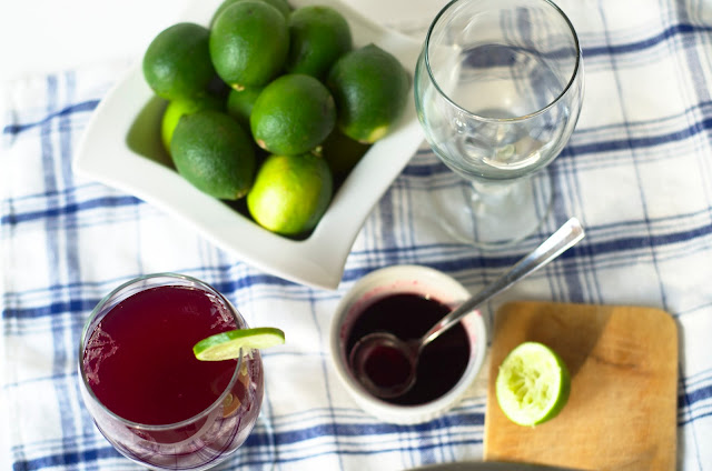 blueberry-ginger mocktail recipe