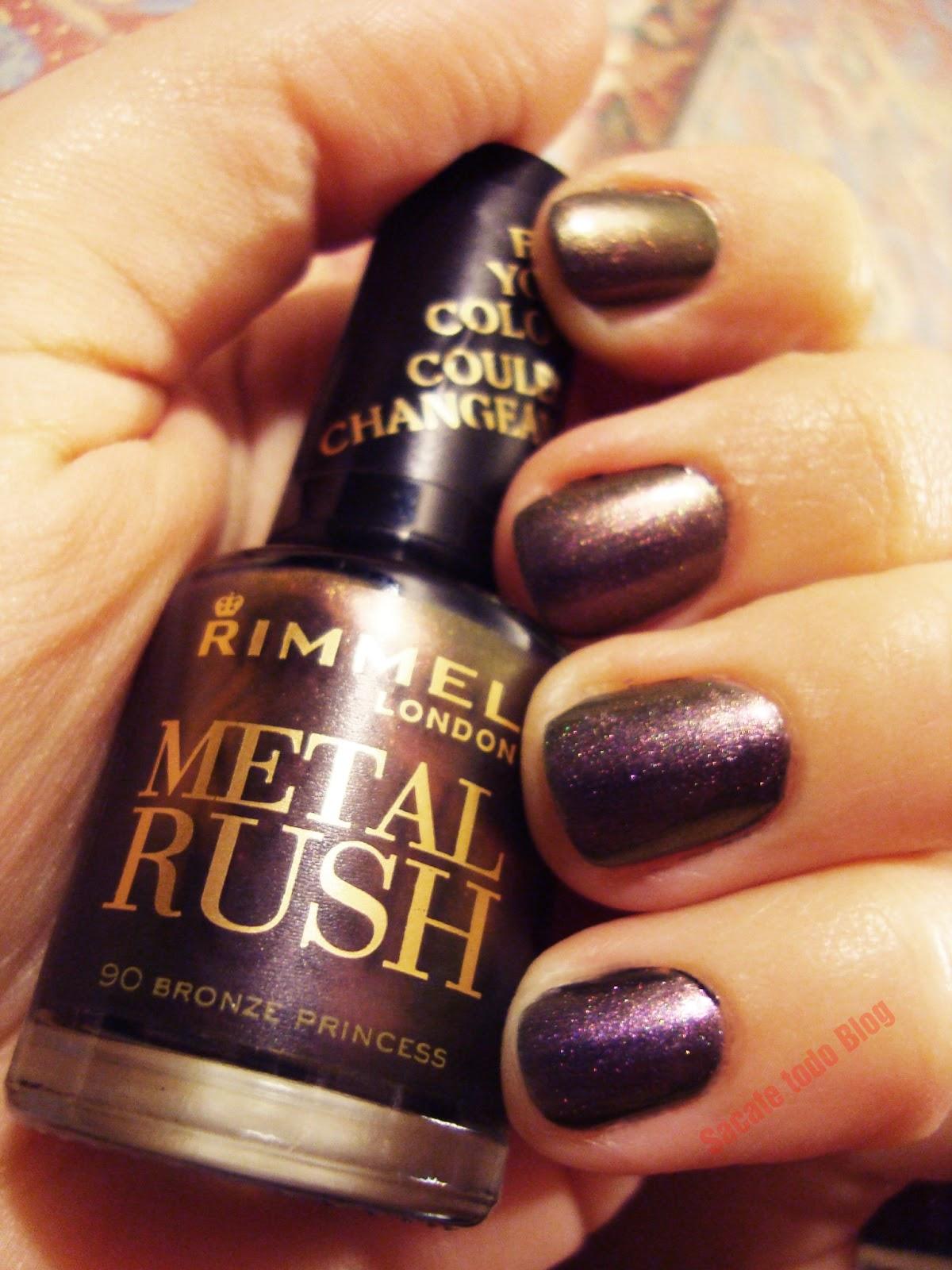 Sacate todo: Rimmel Metal Rush \