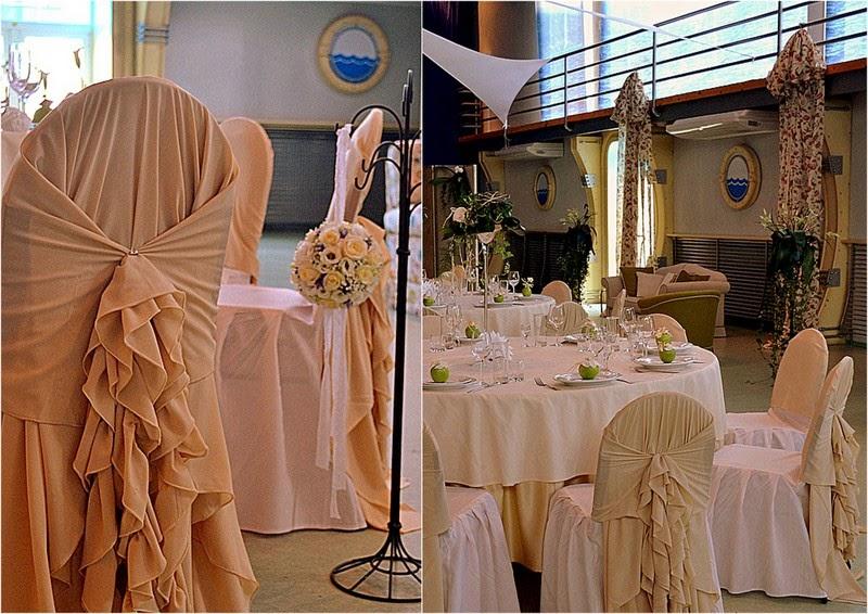 оформление свадьбы в яхт клубе новый берег