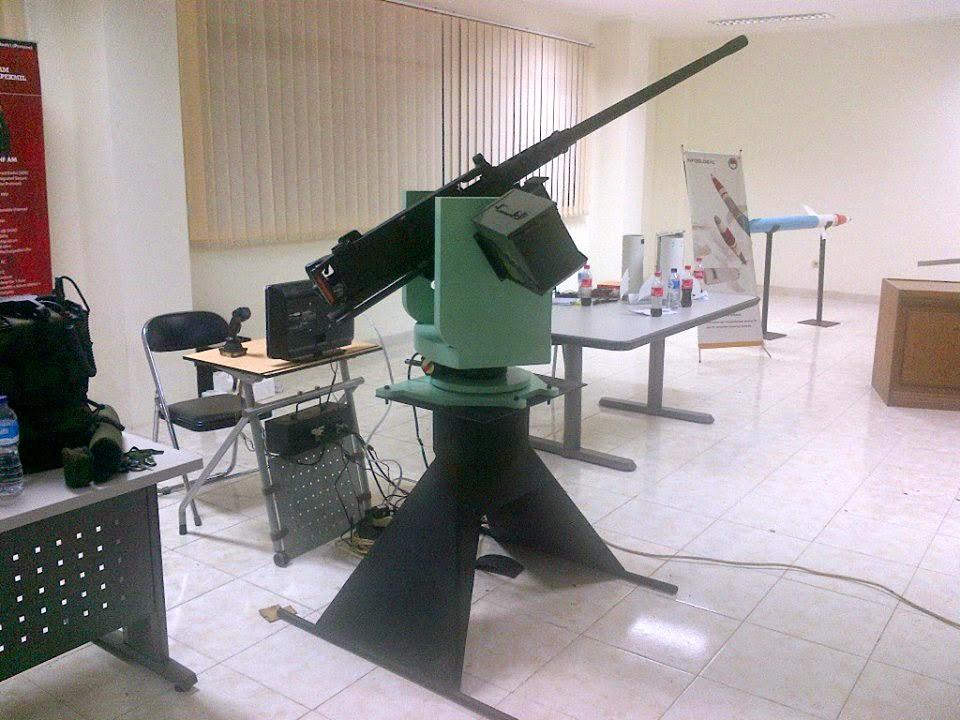 RWS 12,7 mm produksi PT AIU