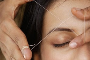 Beneficios da depilação com linha