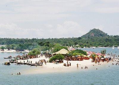 Fotos das Praias de Alter do Chão no Pará