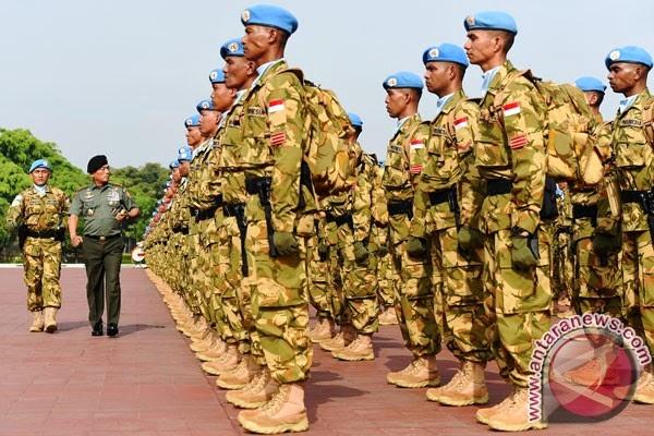 Batalion Kontingen Garuda XXXV-A tiba di Darfur