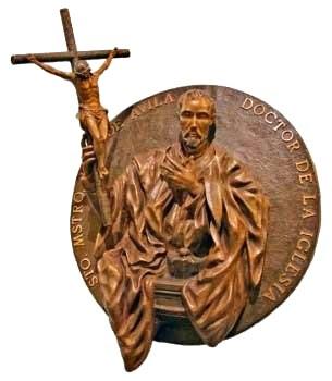 Visita de las reliquias de San Juan de Ávila