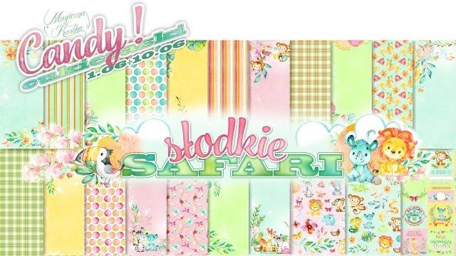 Candy - Słodkie Safari w Magicznej Kartce