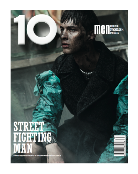 Dima Dionesov by Gregory Harris for 10 Men Magazine SS14