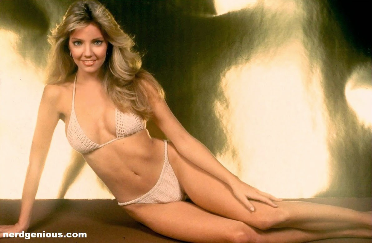 Heather Locklear nude bikini pose for Playboy