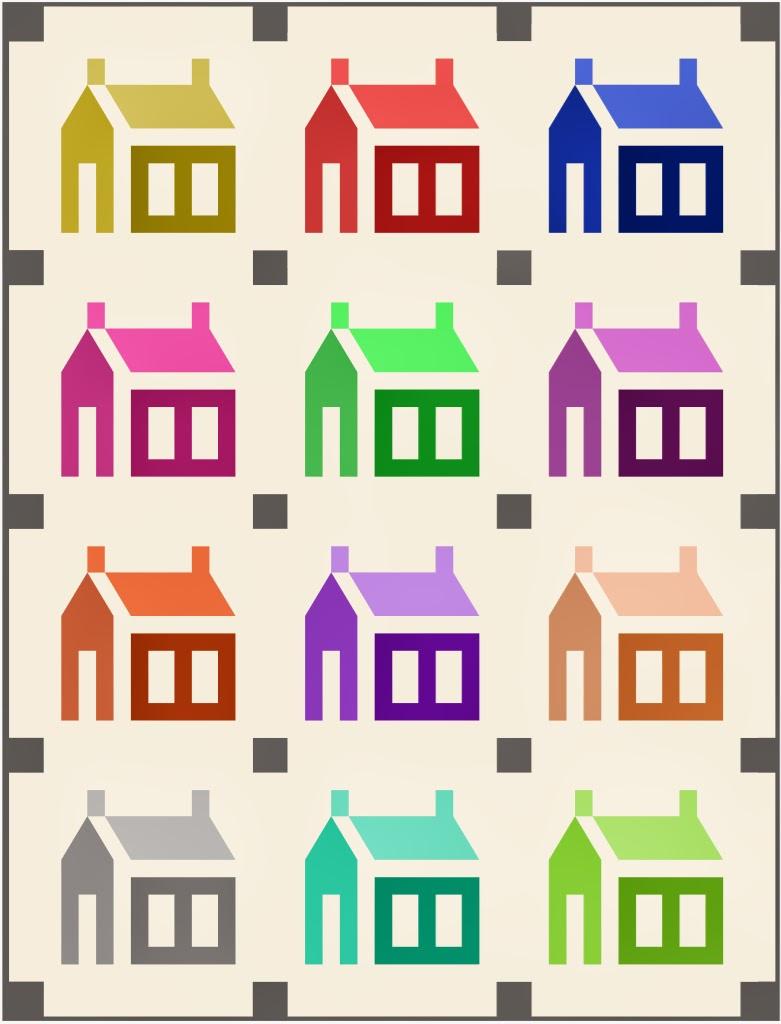 Lily S Quilts The Oakshott Schoolhouse Quilt