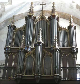 L'orgue de la Décanale St Louis de Sète