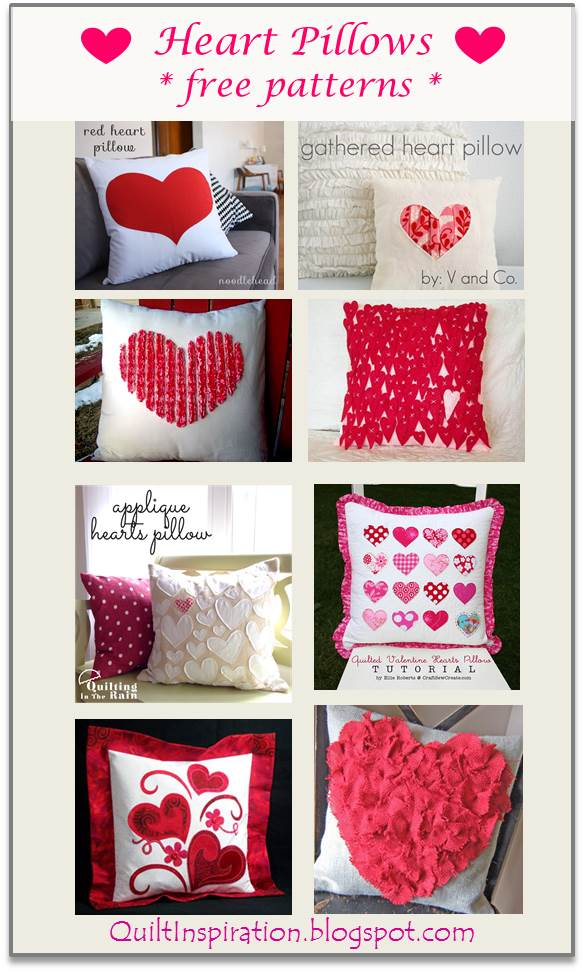 Quilt Inspiration Free Patterns For Valentine S Day