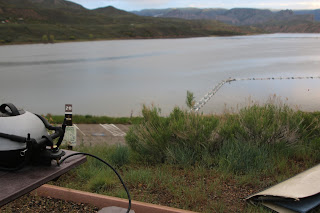 Colorado, camping, Suzanne Bastien, Blue Mesa Reservior