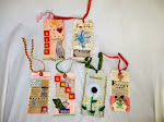 Nostalgic Folk Art Gift Tags