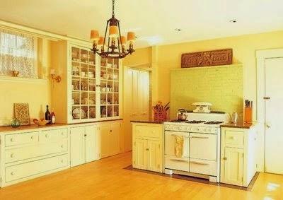 Fotos de cocinas amarillas colores en casa - Cocinas amarillas ...