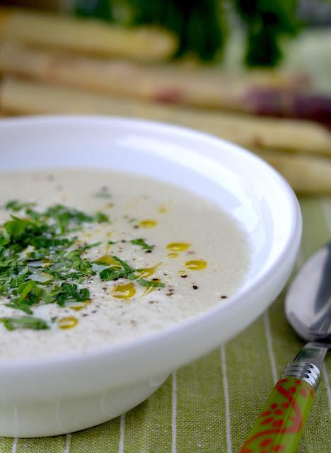 zupa- krem ze szparagów, zupa szparagowa, szparagi przepis
