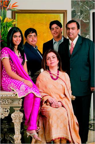Mukesh Ambani Family House