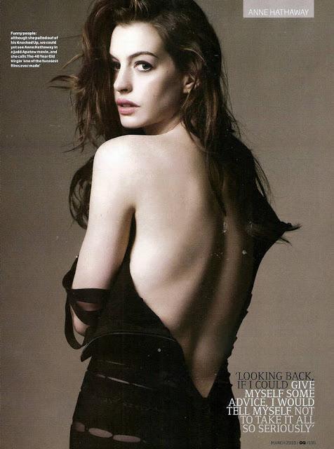 Anne Hathaway-Fotogramas magazine
