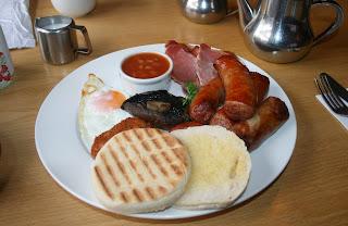 Amazing breakfast with extra Sossidge