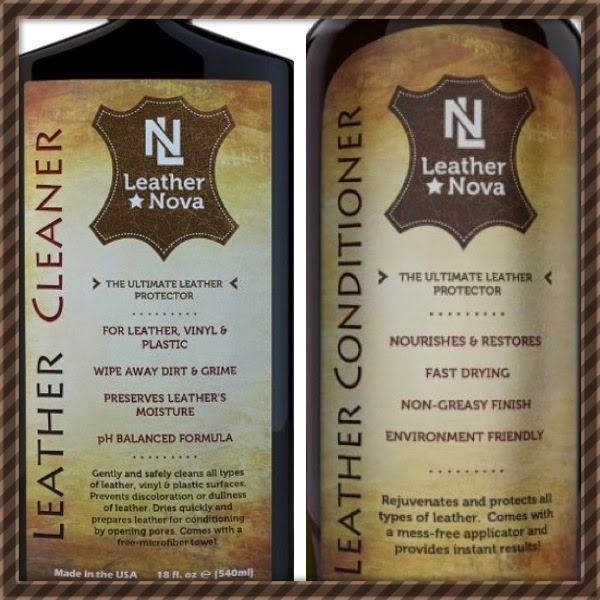Leather Nova Cleaner and Conditioner
