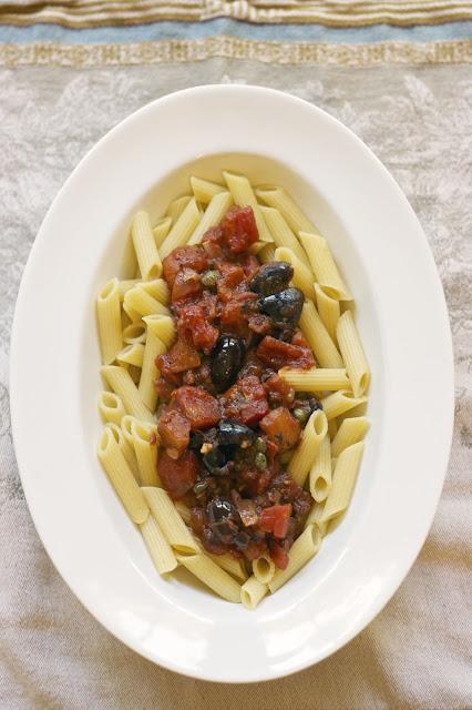 Puttanesca Sauce- simplelivingeating.com