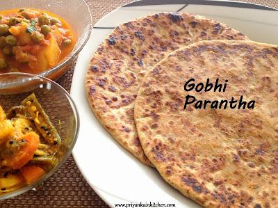 Gobhi Gobi Cauliflower Parantha