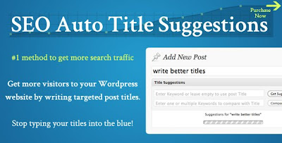 CODECANYON - SEO Auto Title Suggestions - Premium Plugin