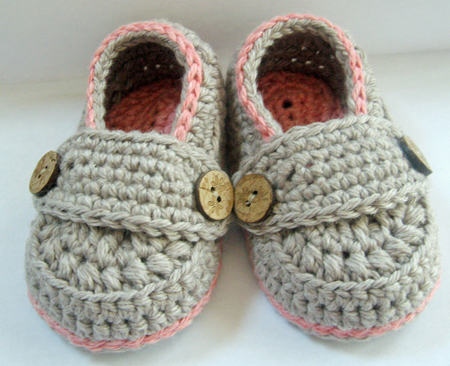 Crochet Pattern For Baby Lovey : Adorable Organic Crochet Baby Loafers from My-EcoBaby ...