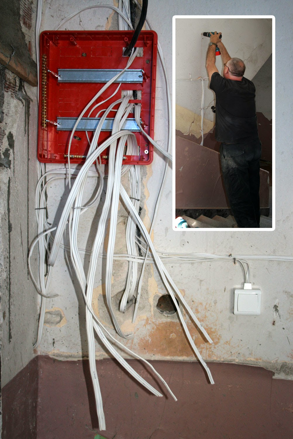 Consumer unit, and drilling