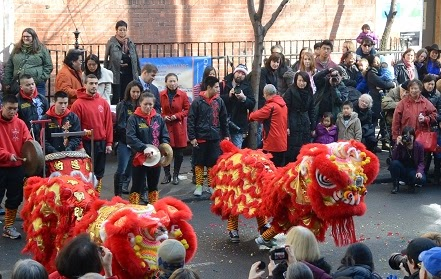 NYC chinese new year celebration 1