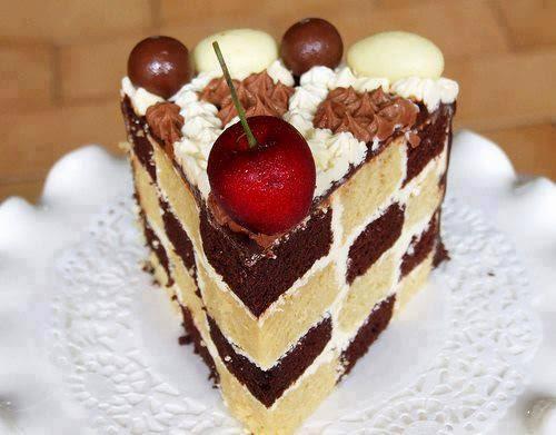 la ricetta della torta scacchiera (clicca e condividi)