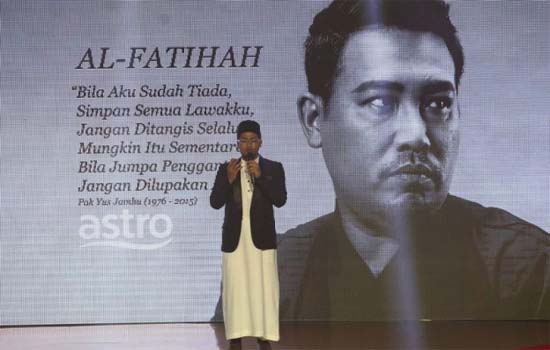 Program tribute untuk Yus Jambu dikritik hebat