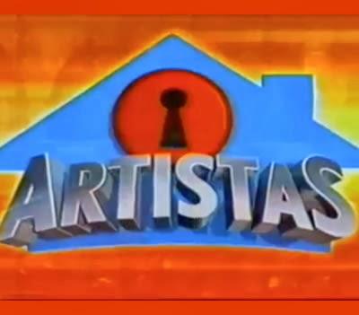 Abertura do programa 'Casa dos Artistas' do SBT em 2001