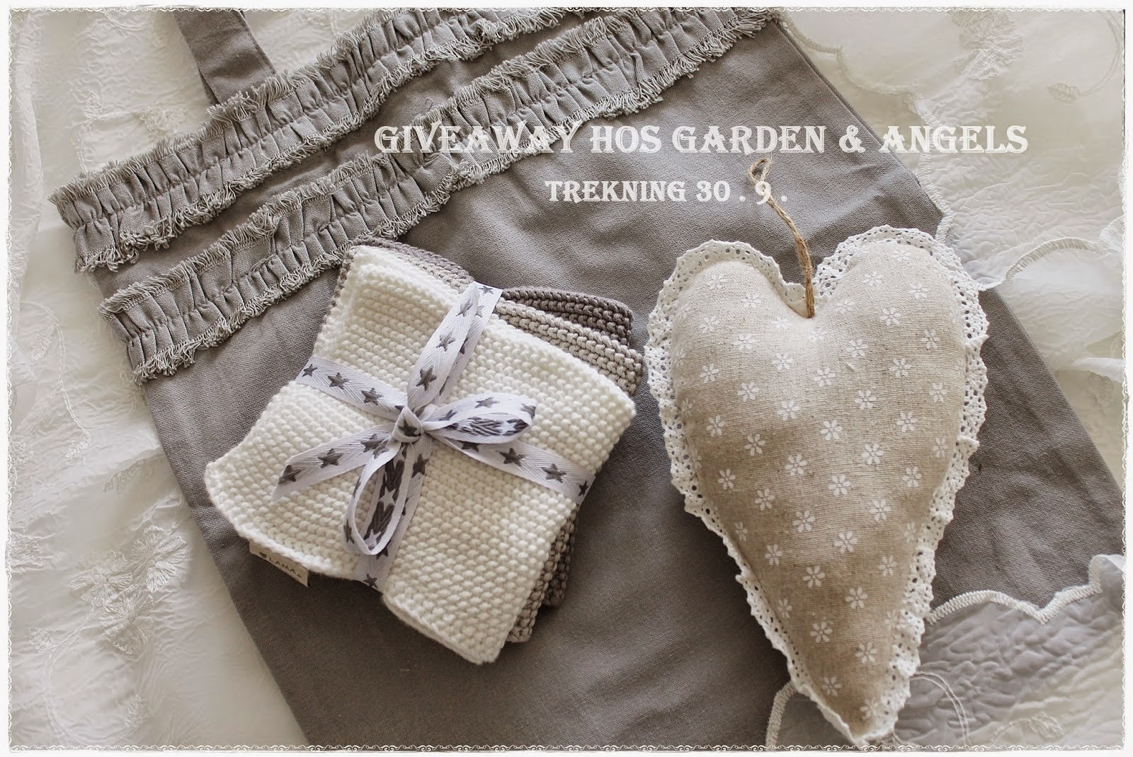 Give Away hos Garden & Angels