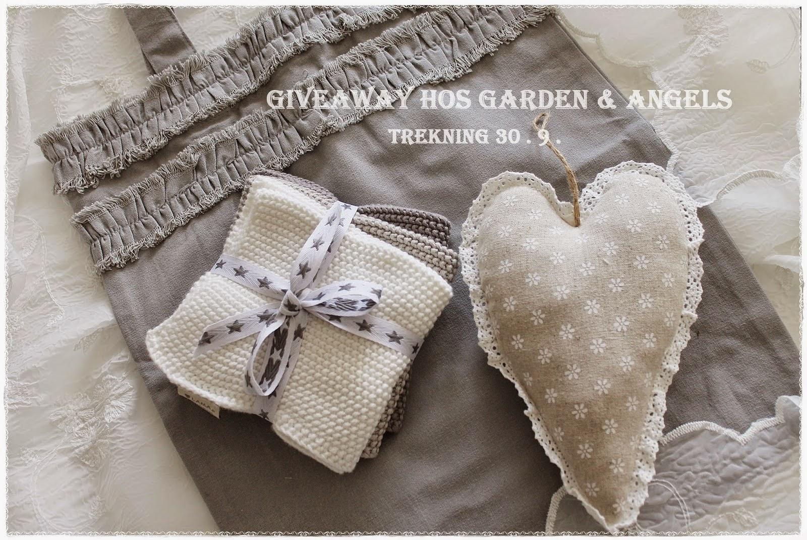 Give Away hos Garden & Angels