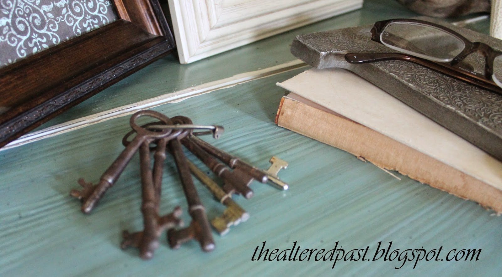 how to make a skeleton key into a ring