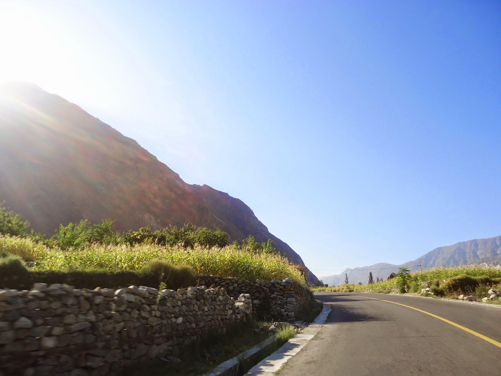 The Hunza Valley, Gilgit Baltistan