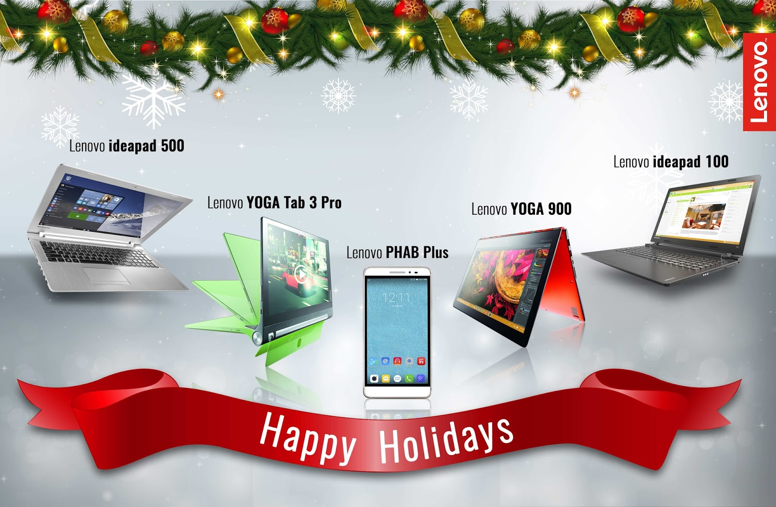 Lenovo Holiday Gift Guide