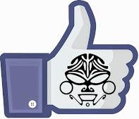 Curta Corvo Body Art no seu Facebook