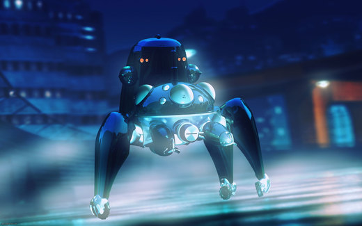 Ghost in the Shell: Tachikoma por Okaria