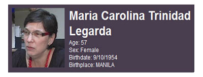 Maria Trinidad Legarda