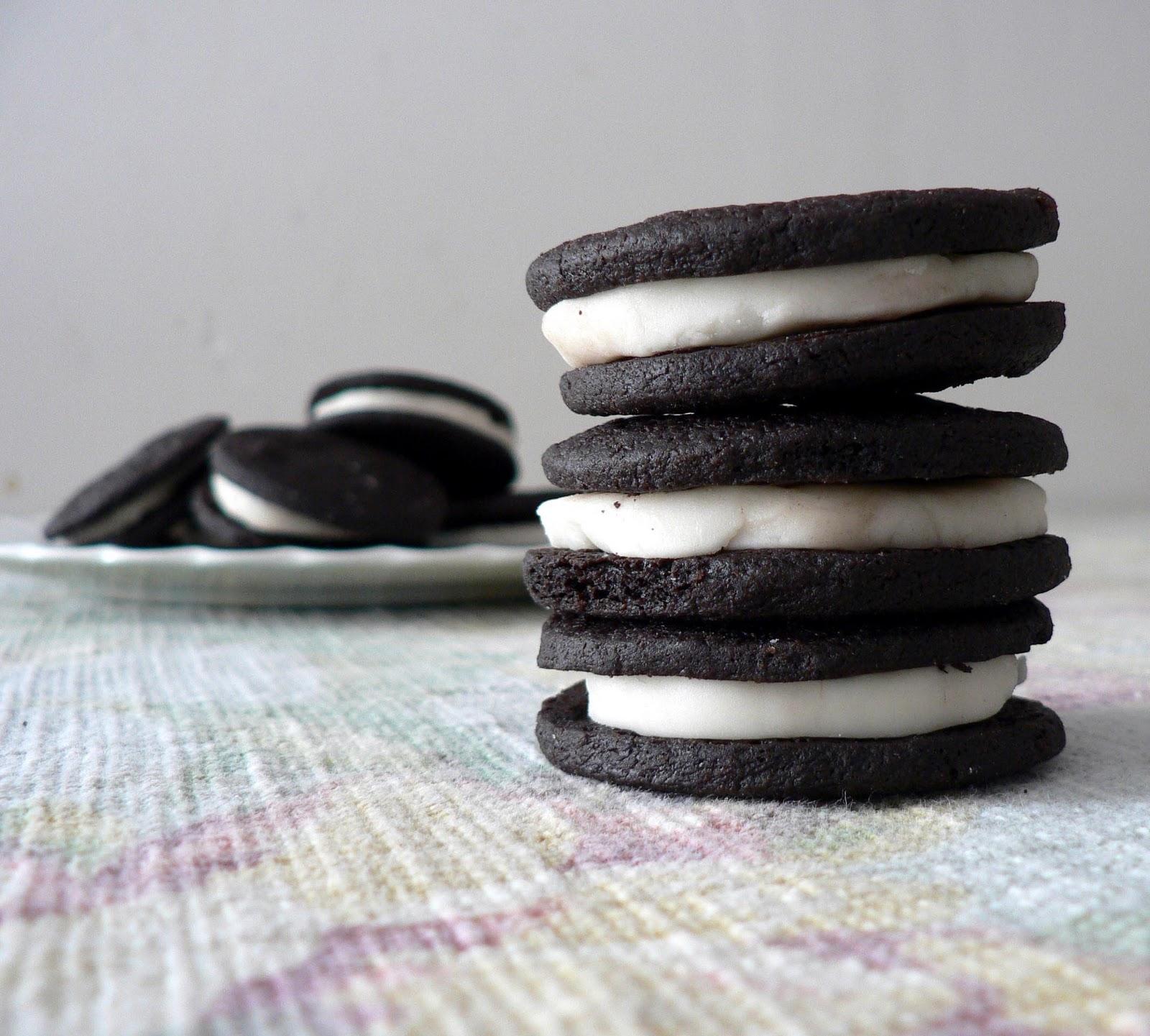 Homemade Oreo Cookies recipe, crunchy oreo cookies